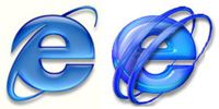 E-Path logo compared to IE logo